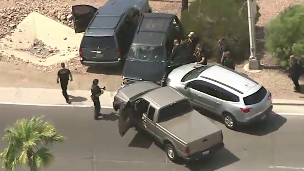 Phoenix, Avondale Police Kill Bank Robber Following Pursuit - FastCrime